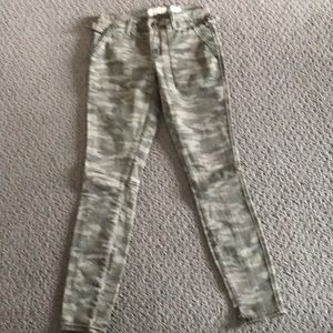 Anthropologie new without tags Hei camo pants